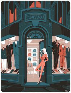 Яркие иллюстрации Винцента Махе - Винцент Махе (Vincent Mahé) — талантливый французский иллюстратор. Работает с ведущими изданиями Европы. Живет в Париже. #художник #иллюстратор #artist #illustrator