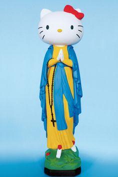 The Virgin Mary as Hello Kitty
