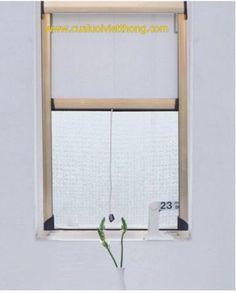 cửa lưới chống muỗi tự cuốn sài gòn