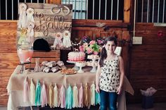 the MomTog diaries: Rustic Elegance: Halle's 8th Birthday, An Equestrian Affair