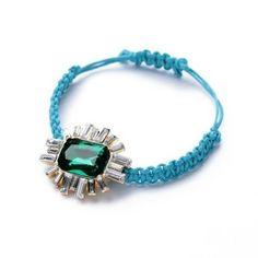 Cord Emerald Bracelet – Fanduoduo Jewelry