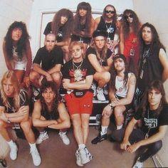 Slayer/Anthrax/Megadeth