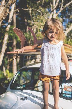 la petite surfeuse :)