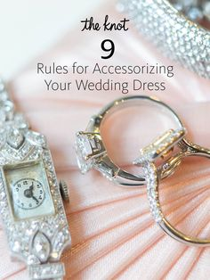 Here's our best advice for choosing the right accessories to compliment your wedding gown.