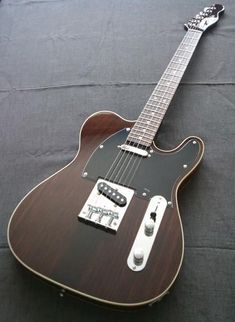 Rosewood Telecaster | white binding... always wanted a tele... this is one of the prettiest I've ever seen.