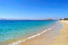 Plaka Beach on Naxos.