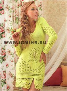 Короткое ажурное платье салатового цвета. Обсуждение на LiveInternet - Российский Сервис Онлайн-Дневников