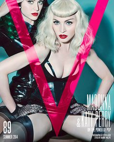 Katy Perry and Madonna pose for Summer 2014 issue of V