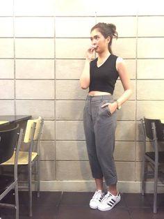 "Sofia Andres 28 Dec 2015 ""may igaganda pa pala ako"" Filipina Actress, Uzzlang Girl, Ph, Mom Jeans, Fashion Inspiration, Normcore, Ootd, Celebs, Asian"
