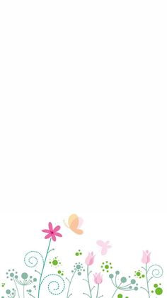 Pastel flowers background image simple H5 Smile Wallpaper, Abstract Iphone Wallpaper, Butterfly Wallpaper, Cute Wallpaper Backgrounds, Pretty Wallpapers, Wallpaper Iphone Cute, Aesthetic Iphone Wallpaper, Flower Background Images, Background Drawing