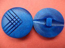 12 blaue Knöpfe 19mm (6119-3) Jackenknöpfe Knopf