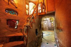 Gorgeous Cob Castle at Wattle Hollow retreats Green Building, Building A House, House Of Leaves, Earthship Home, Magic House, Barns Sheds, Build Your Own House, Bohemian House, Cabins And Cottages