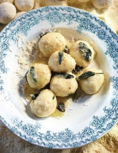 Butter-and-Sage-Gnudi from Jamie Oliver's new book