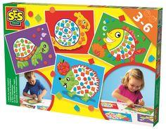 SES Creative nauka wyklejania mozaiek 14827 - od 33,99 zł, porównanie cen w 2 sklepach. Zobacz inne Zabawki plastyczne, najtańsze i najlepsze oferty, opinie.