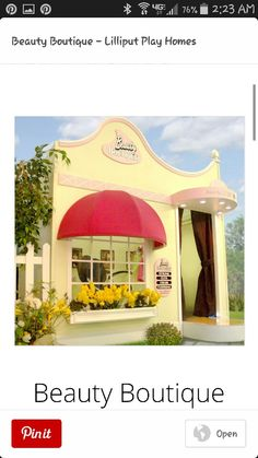 Beauty Boutique Playhouse $6,699