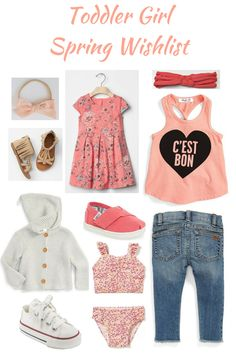 Toddler Girl Spring Wishlist Toddler Outfit
