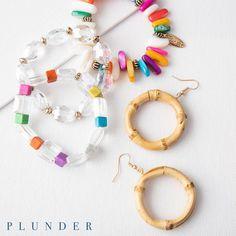 Vintage Costume Jewelry, Vintage Costumes, Stylish Jewelry, Fashion Jewelry, Circle Earrings, Drop Earrings, Plunder Jewelry, Plunder Design, Have Some Fun