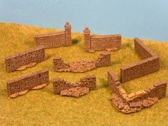 NORMANDY VILLAGE / VILLAGE NORMANDIE 1944 en 15mm - DECORS EN 15 OU 20MM POUR WARGAME