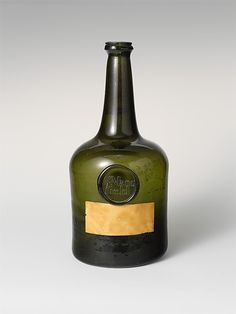 Wine Bottle, ca. 1760, England