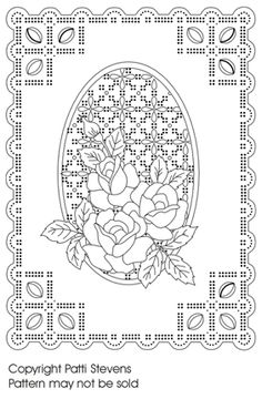 parchment craft patterns for beginners Machine Embroidery Designs, Embroidery Patterns, Parchment Design, Parchment Cards, Paper Embroidery, Card Patterns, Paper Cards, Cardmaking, Coloring Pages