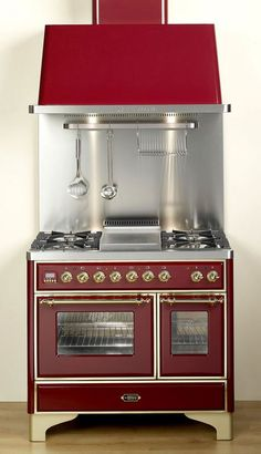 "Alert: Stove Envy! 40"" Majestic ranges available in the U.S. - Retro Renovation"