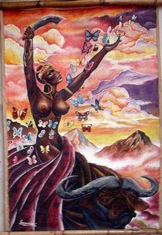 Oya - Onira = a Senhora de Irá (terra de Oyá)