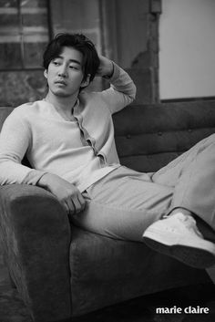 """Yoon Kye Sang who has been pretty quiet since """"The Good Wife"""" showed up in the pages of March's Marie Claire, looking FINE. We think he needs to come back to dramaland soon. Check…"""