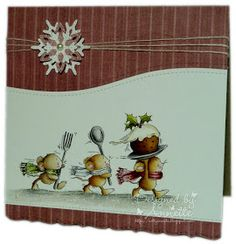 Netty's Cards: Christmouse Pudding