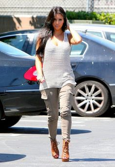 Houlihan Skinny Cargo Pants - as seen on Kim Kardashian - by J Brand BECAUSE LUV KIM KARDASHIAN
