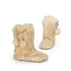 fuzzy boots