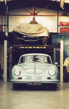 Porsche 356 #Porsche - hey that front end resembles my beetle....