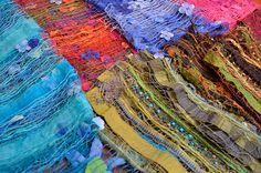 gefärbte Tücher