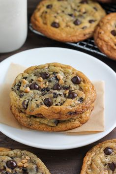"yumi-food: ""Espresso Toffee Chocolate Chip Cookies 
