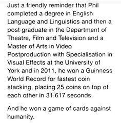 Phil is awesome!