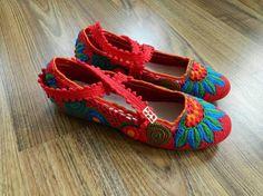 el örgüsü ev ayakkabısı