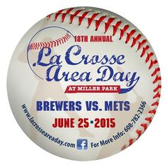 Save the Date! Brewers vs. Mets for #lacrosse Area Day June 25, 2015 @onalaskawi | #onalaskawi