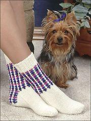 Ravelry: 3 & 1 Slip-Stitch Socks pattern by E. J. Slayton