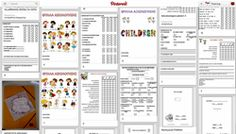 Pinterest : Portfolio (φακέλοι προόδου των παιδιών της τάξης σας) | φύλλα εργασίας, διαχωριστικά μηνών, θεματικές κατηγορίες, οδηγίες και προτάσεις | Popi-it