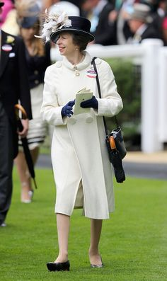 Princess Anne, Princess Royal arrives in the parade ring at Royal Ascot 2016 at Ascot Racecourse on June 14, 2016 in Ascot, England.