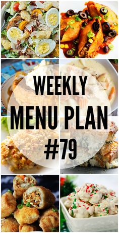 The holidays are hectic, but don't fret! This week's menu plan will let you get dinner on the table in a snap! via @realhousemoms