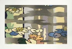 Roy Lichtenstein, Water Lily Pond with Reflections, 1992, Sotheby's: Contemporary Art Day Auction
