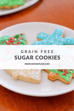 Gluten Free Baking, Gluten Free Desserts, Dairy Free Recipes, Almond Flour Cookies, Sugar Cookies, Cookie Desserts, Fun Desserts, Healthy Desserts, Sugar Cookie Buttercream Frosting