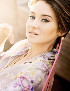 Shailene Woodley. So many reasons to love her. She is unapologetically herself. She is unafraid to live a life of integrity and preach her message to her audience. I love her holistic approach to life, and I'm grateful that we have somebody else that can spread the word about meditation and taking care of ourselves. Thank you, Shai.