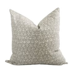 Avery Pillow Cover – theivy&co Classic Pillow Covers, Classic Pillows, Grey Pillow Covers, Grey Pillows, Pillow Cover Design, Boho Pillows, Chameleon Color, Mini Bunting, Dove Grey