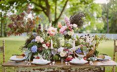 deco rustique floral