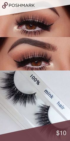 100% mink eyelashes •Brand new mink lashes (no brand) •100% real mink. •2 pairs for $25 •3 pairs for $30 THESE SELL FAST SO GRAB WHILE YOU CAN MAC Cosmetics Makeup False Eyelashes