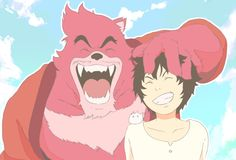 The Boy and the Beast #Kumatetsu #Kyuta (by てるか)