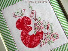 (10) Name: 'Embroidery : Rosedaisy Alphabet - 26 stitcheries!