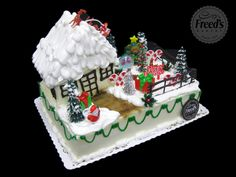 Christmas Cakes | Freed's Bakery Las Vegas |
