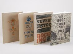 Kraft Series Notebook 4-Pack by Earmark Social Goods